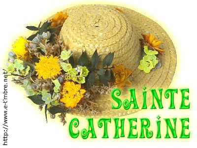 Decoration Gateau Sainte Catherine